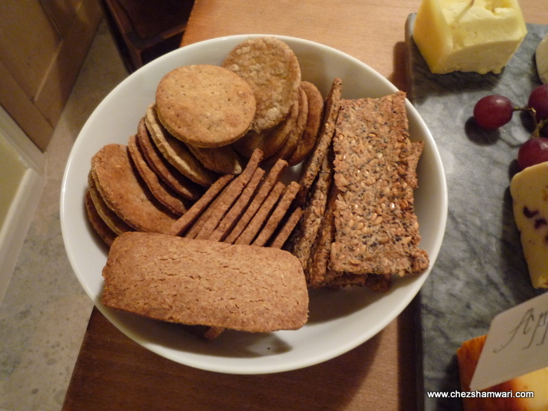 Homemade crackers - Asian Spice Crackers, Multi Seed Crackers, Spelt Biscuits