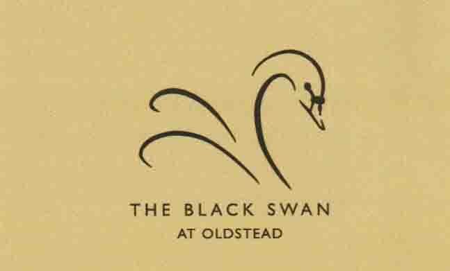 Black Swan business card