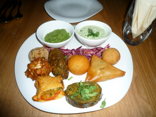 Starter:  Tasting platter to share between two