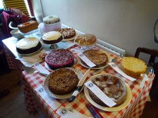 The gluten cakes