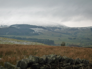 View over The Forest of Bowland -  Winter still hanging on