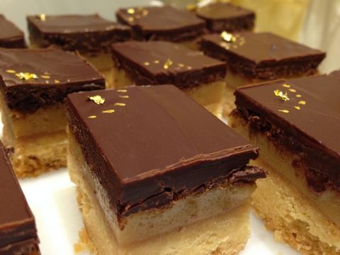 Billionaires salted caramel shortbread