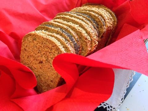 Mulit seed bread