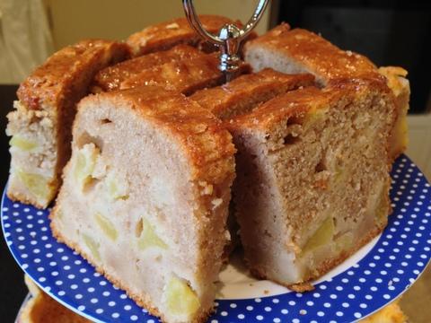 Honey glazed Dorset Apple Cake
