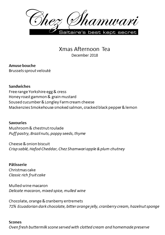 201812 Xmas afternoon tea