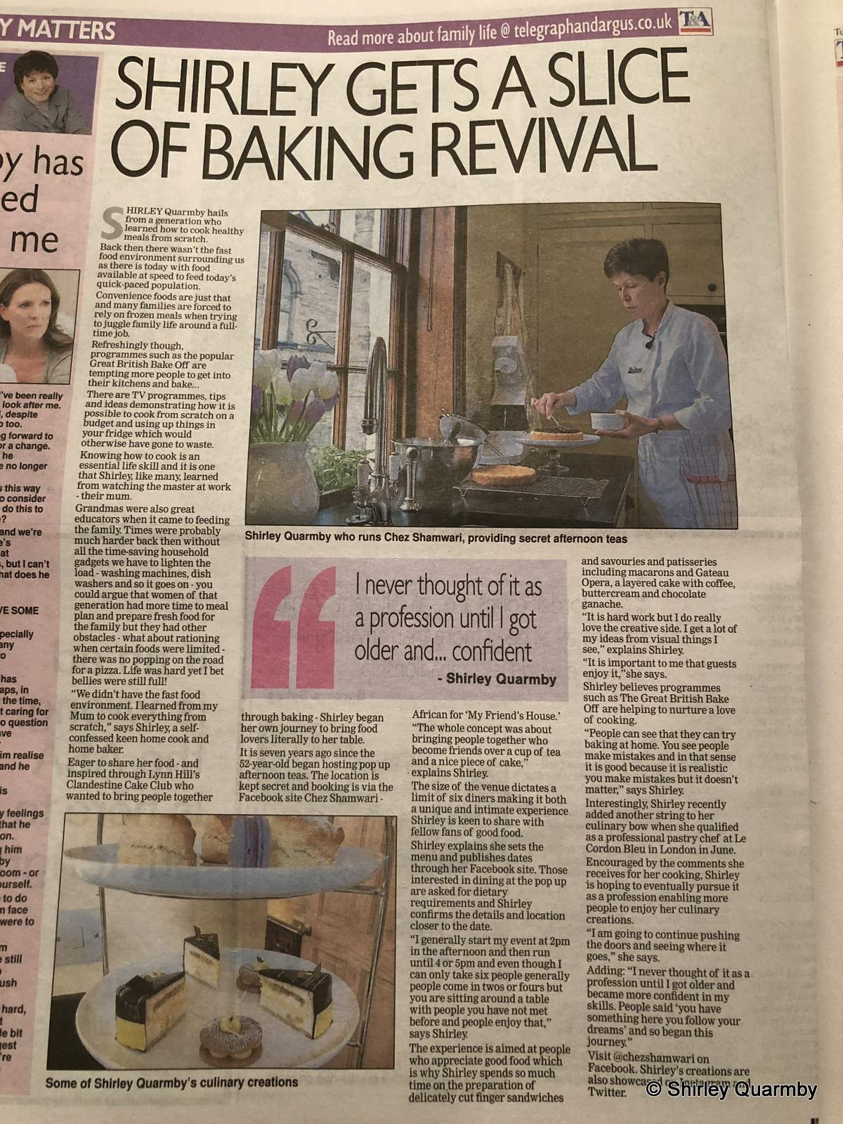 Telegraph & Argus article 23 October 2018